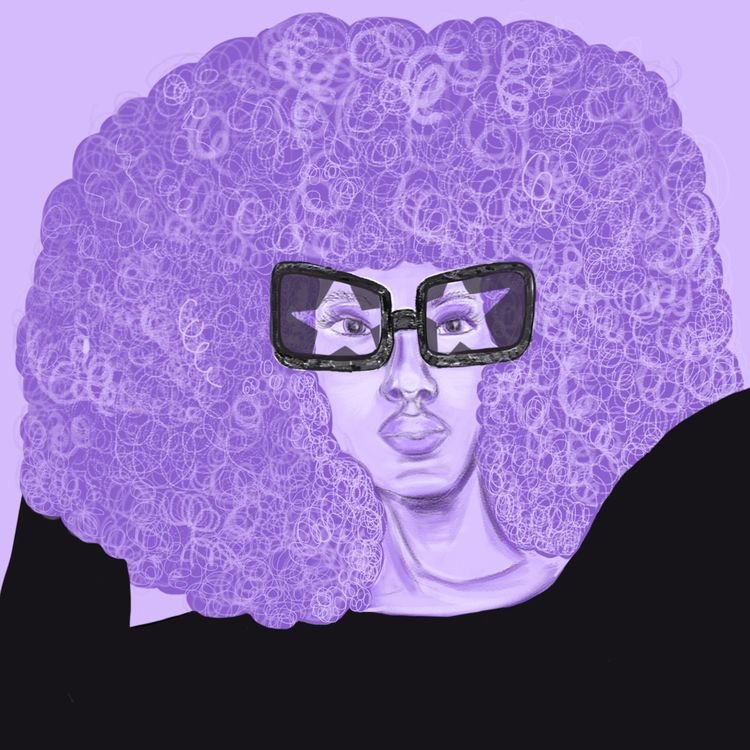 Groovetober - illustration, blm - ievarag1 | ello