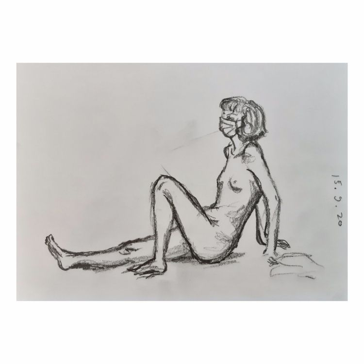 5-10 min Sketch Life class - lifeclass - enniswan | ello