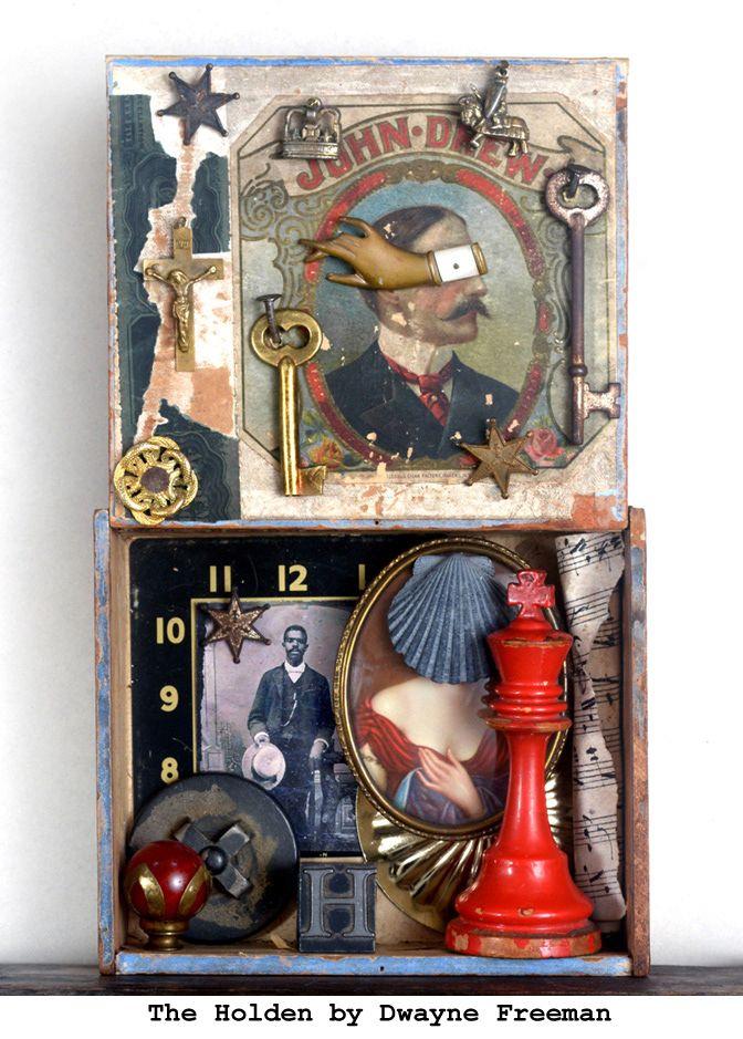 HOLDEN Cigar Box Object Assembl - dwaynefreeman | ello
