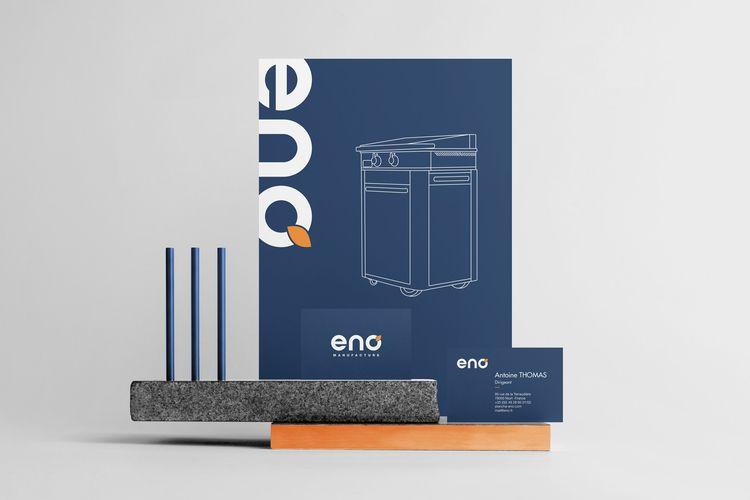 branding Eno! Labeled living he - hermits | ello