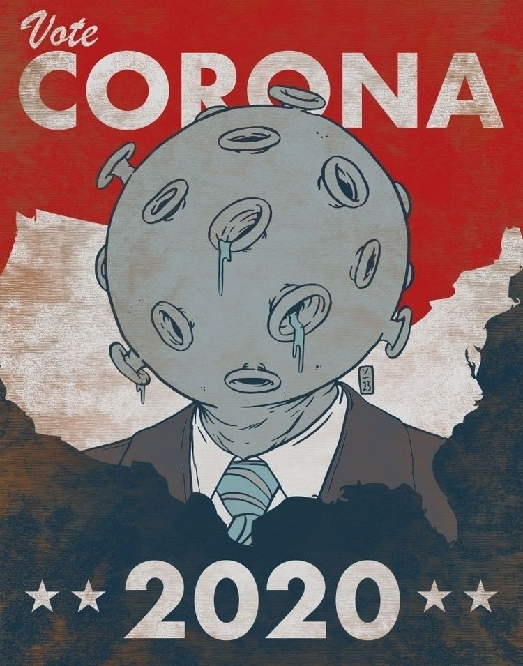 Vote Corona 2020 - thomcat23   ello