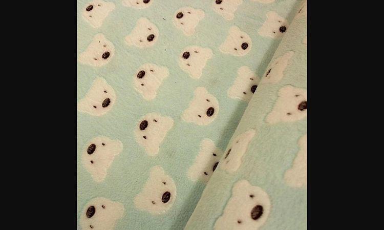 Super Soft Teddy Bear Cuddle Fl - fabricguys   ello