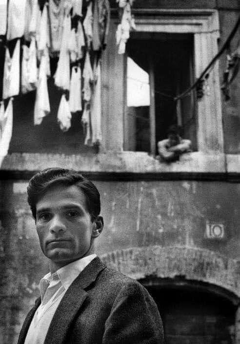 Pier Paolo Pasolini, Rome, 1960 - arthurboehm   ello