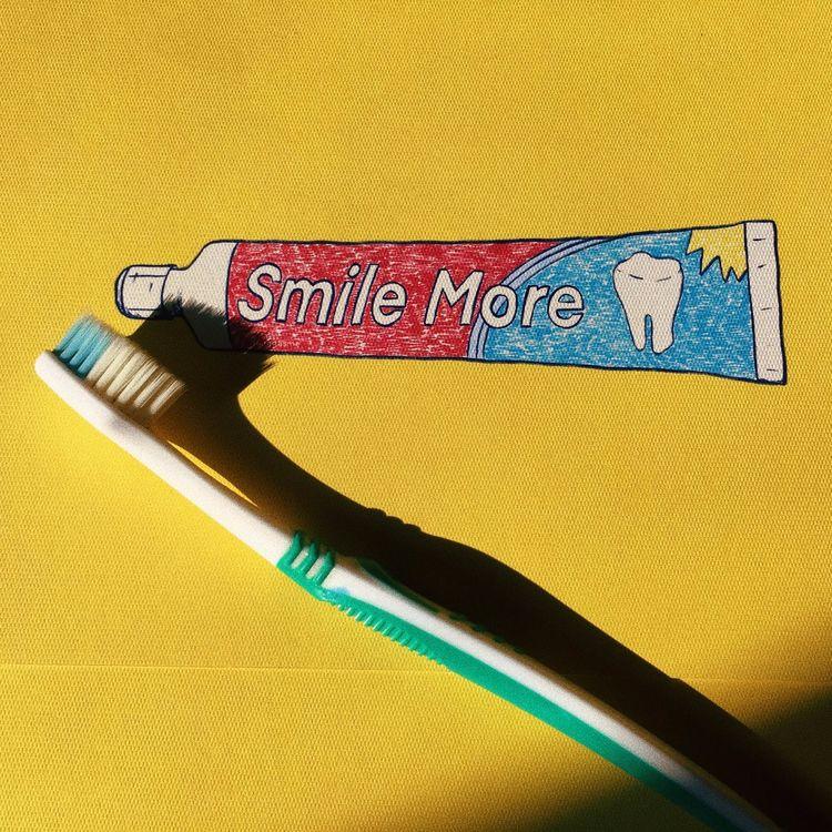 SMILE 🦷. ugh, late - WorldOralHealthDay - ranggasme | ello