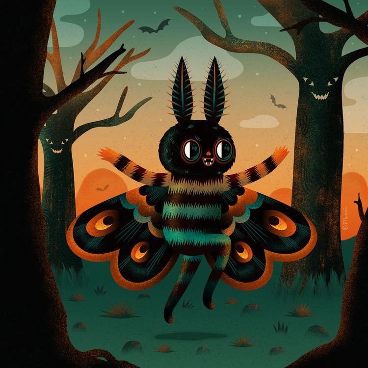 Illustrated Halloween
