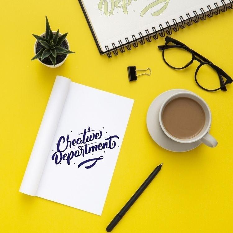 lettering, brushes - krustofsky | ello