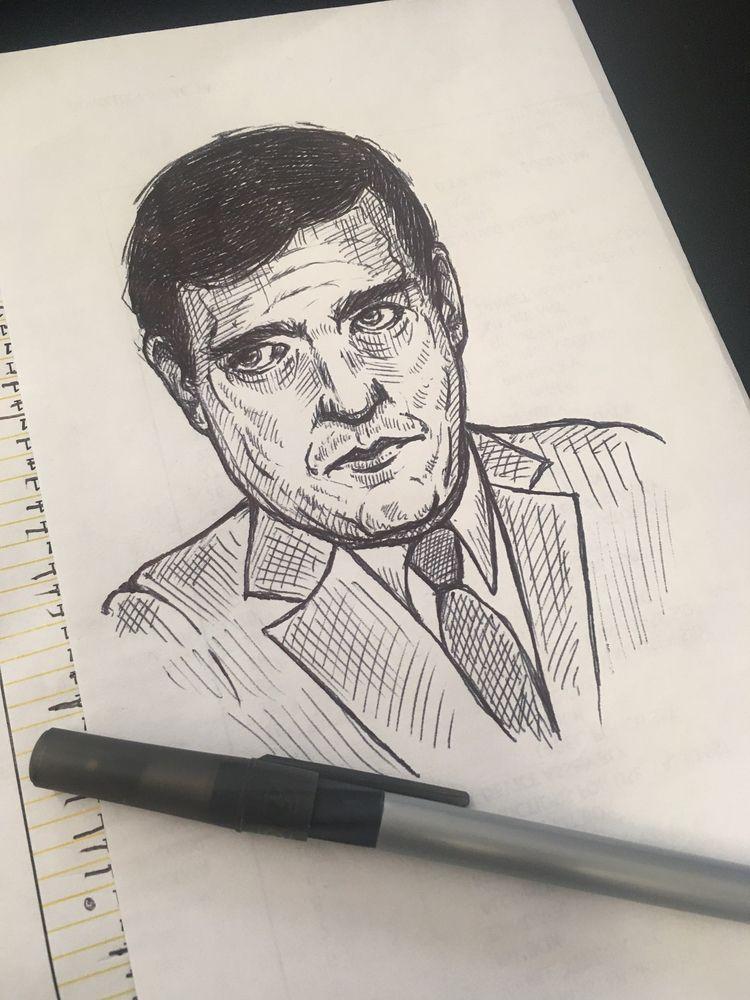 post work doodles. nice - juliawald | ello