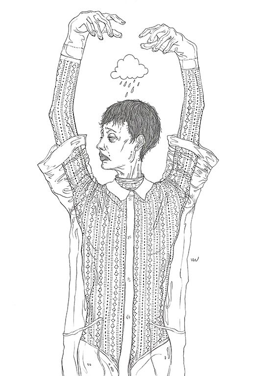 FENDI - art, artwork, drawing, handdrawing - yulin444   ello