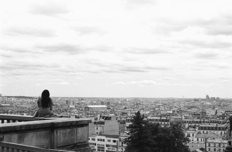 film Tmax 100 Paris coeur - sacré - ol_sea | ello