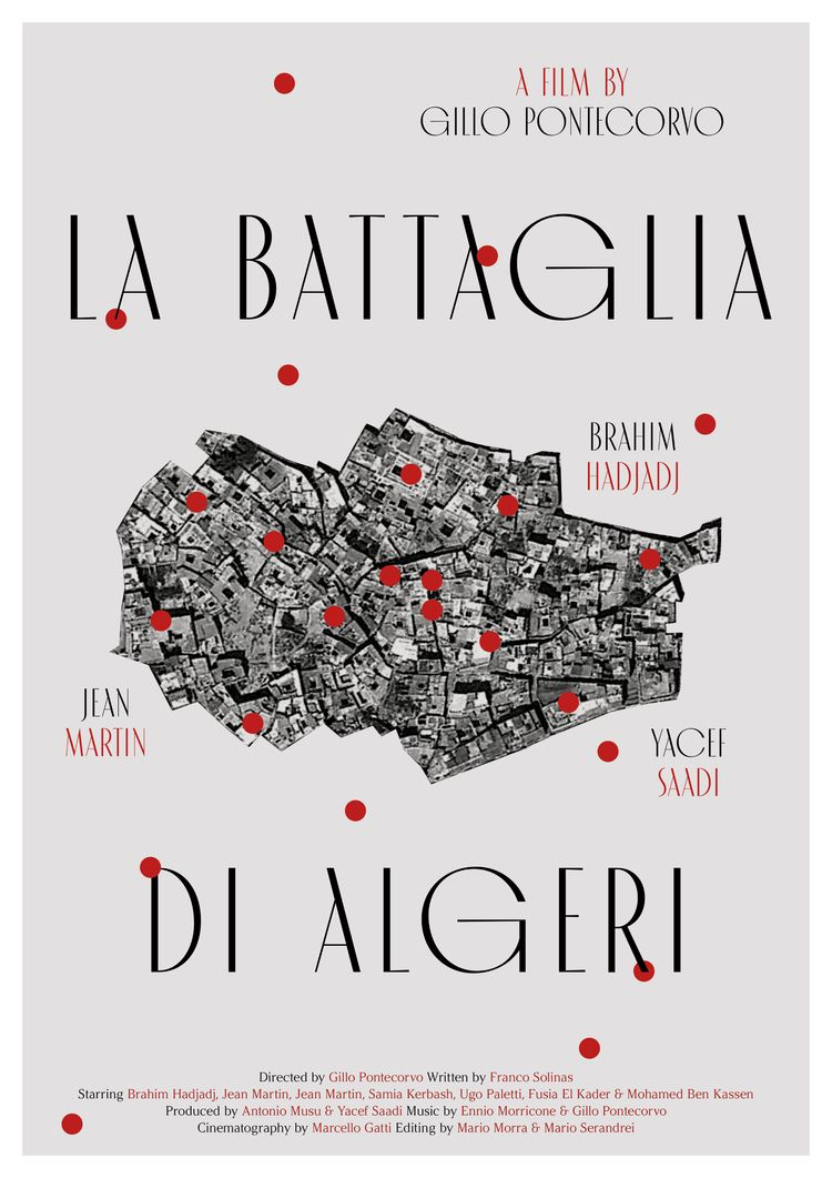 Film poster La battaglia di Alg - mathieuvancamp | ello