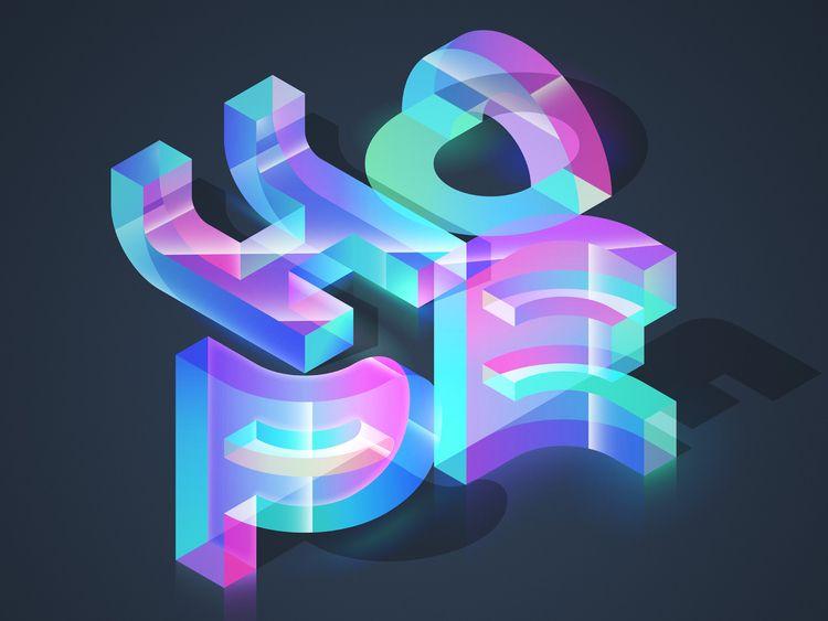 HOPE - graphicdesign, design, typography - mariodemeyer | ello