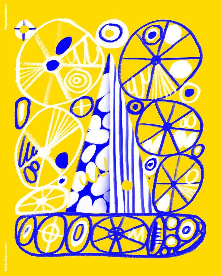 21 October 2020 - abstractillustration - taptapkaboom | ello
