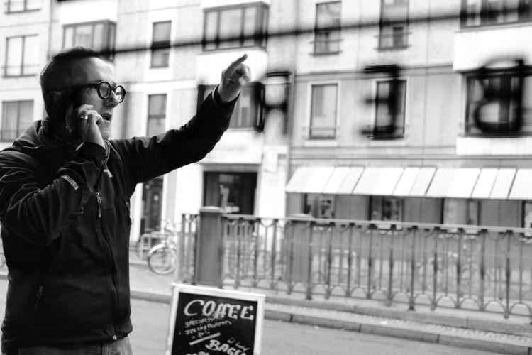 Directions - man, talking, berlin - thanospal | ello
