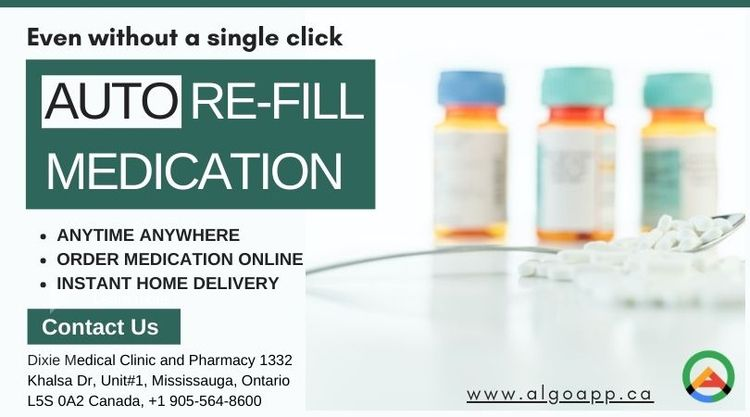 Refill medication single click  - algopharmacy | ello