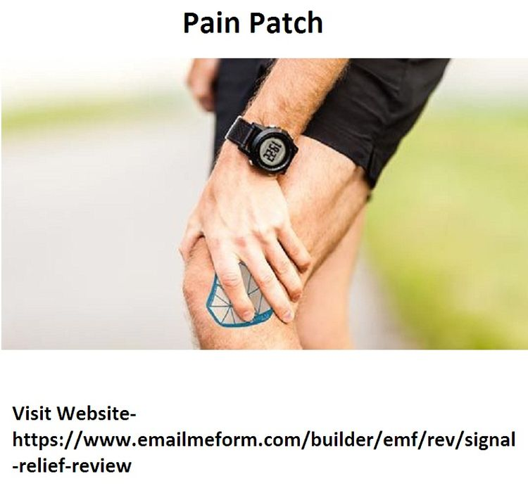 Pain Patch Signal Relief highly - strooughorm | ello