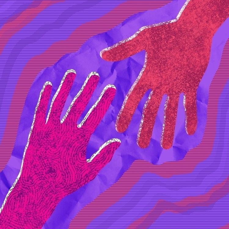 illustration, art, psychedelic - mikewalshe | ello