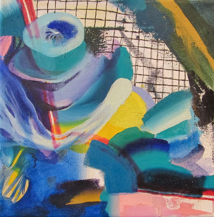 Tumulus Oil canvas 2019 8 - art - peytonrack   ello