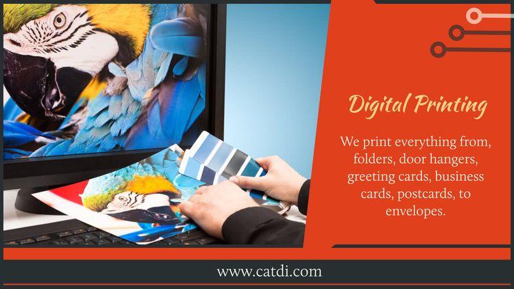 Houston Printing company offers - catdi   ello