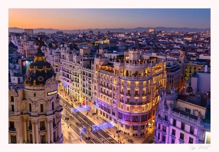 sun sets Madrid - nikon, photography - morpheus2004 | ello