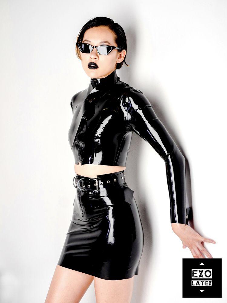 cyberpunk Check lookbook sectio - exolatex | ello