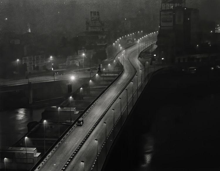 Dawn / 26th October Bridge Span - doglight | ello