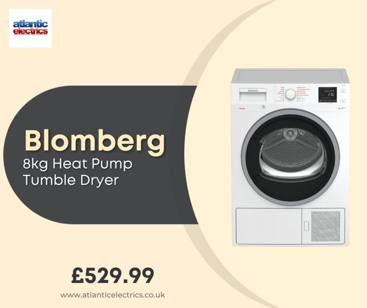 Blomberg Heat Pump Tumble Dryer - electricsatlantic | ello