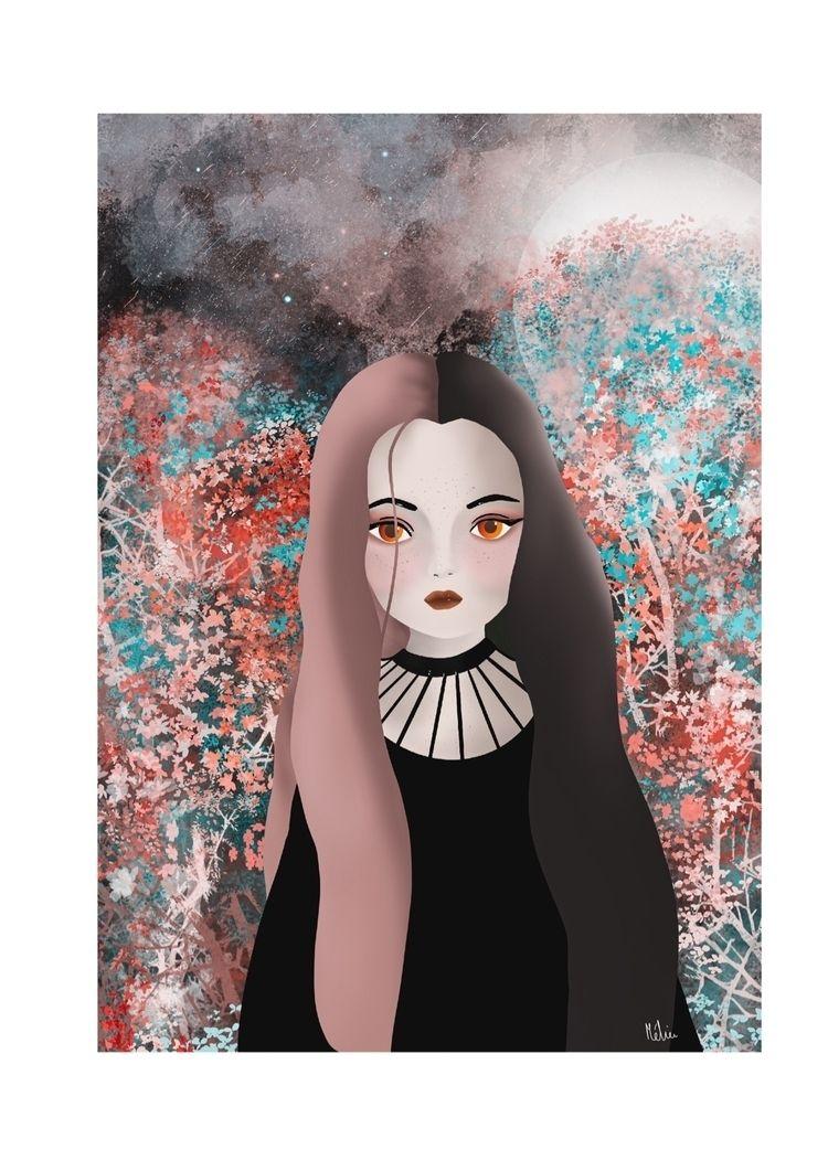 2D, illustration, digitalart - asylum_of_spirits | ello