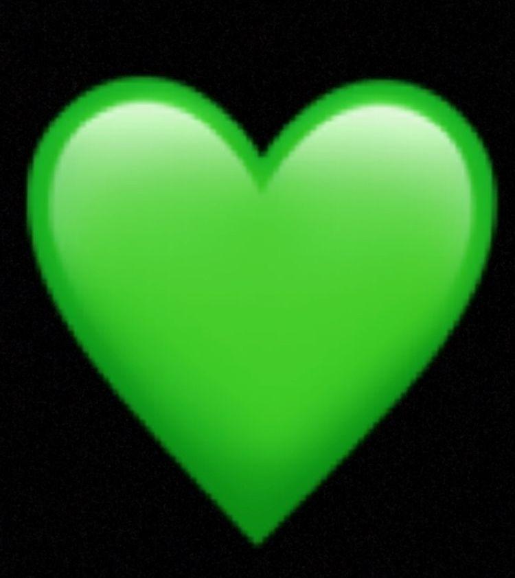Artist: Emoji symbol green hear - leftrevolution | ello