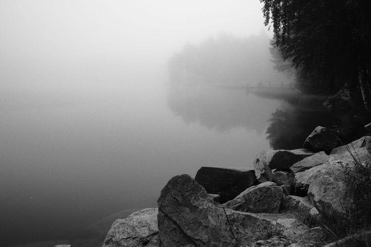 misty lake witnessed, holding h - yurirasin | ello
