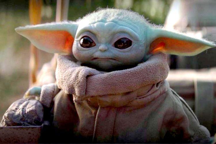 Baby Yoda joins astronauts Spac - bonniegrrl | ello