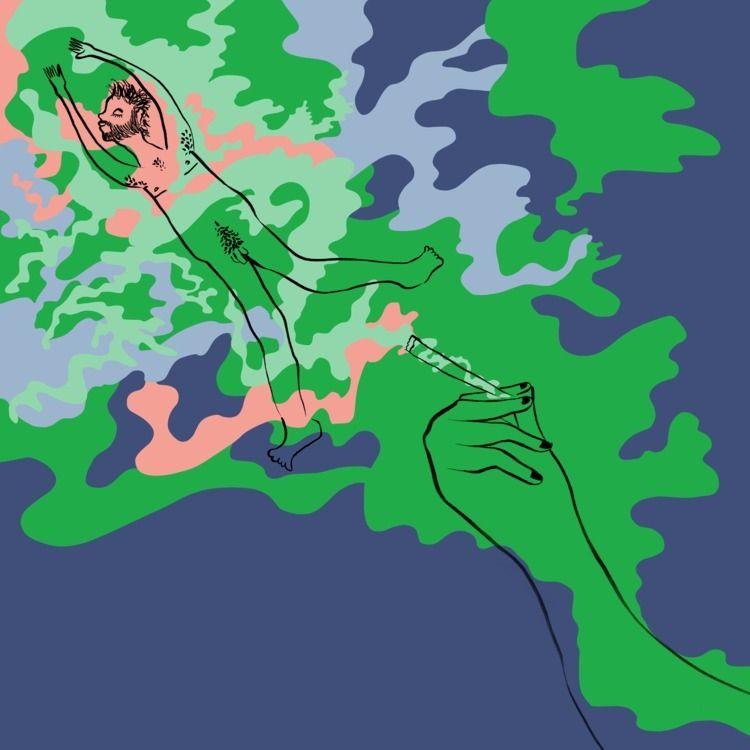 420 - illustration, art, digitalart - catrielmartinez | ello