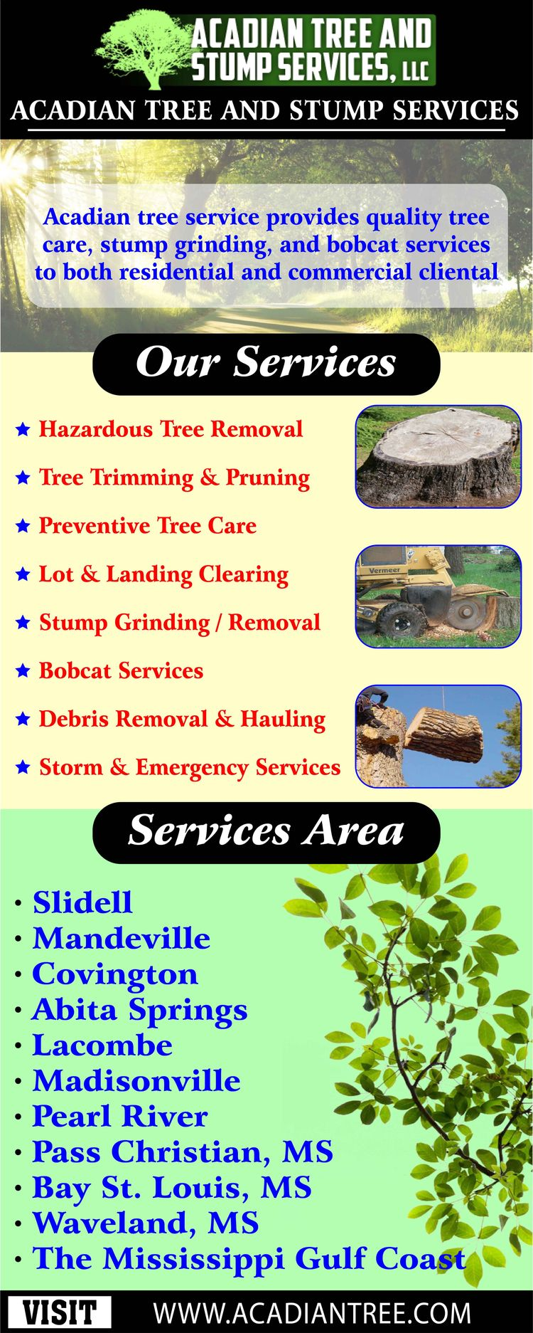 Tree Removal Stump Services Cov - mandevilletreeremoval | ello