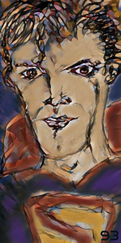 SUPERMAN FAN ART) SKETCH JERRY  - novaexpress93   ello