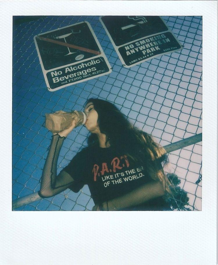 Rebel - polaroid, losangeles - sdotbailey   ello
