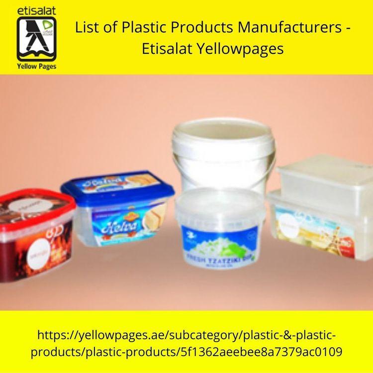 Plastic Manufacturers UAE- veri - yellowpageuae | ello