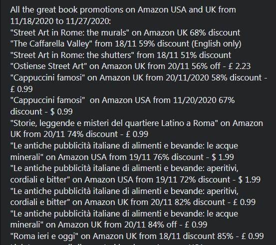 *** Tutte le grandi promozioni  - ebooknews | ello