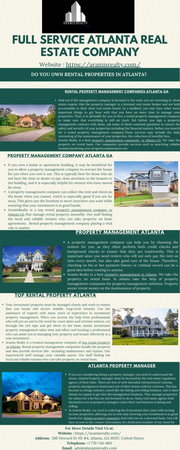 Find Good Rental Property Manag - aramisrealty2   ello
