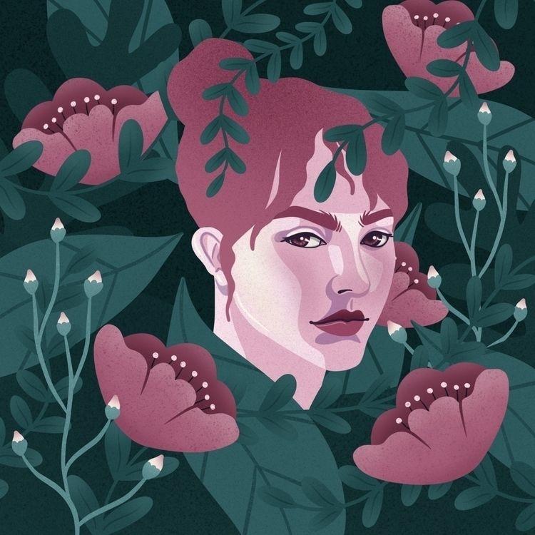 nature, digital illustration - art - amyvpackham | ello
