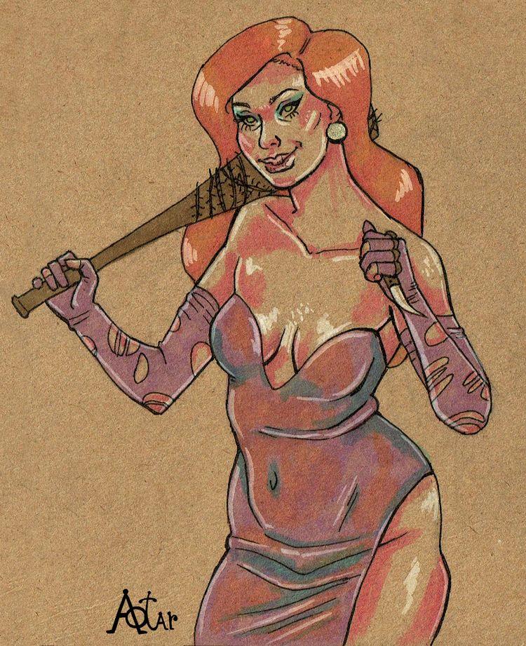 amazing bad Jessica Rabbit. Ske - aotar-le-quaint   ello