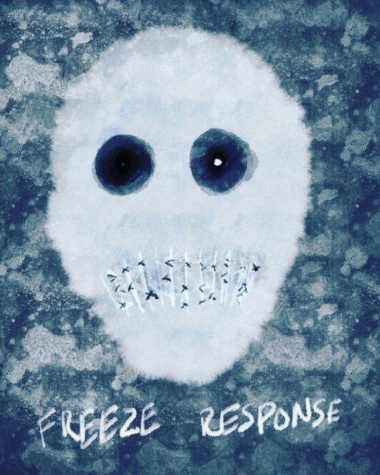 freeze response reaction trauma - traumahealingwithart | ello