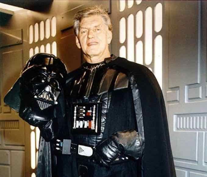 Darth Vader actor David Prowse  - bonniegrrl   ello