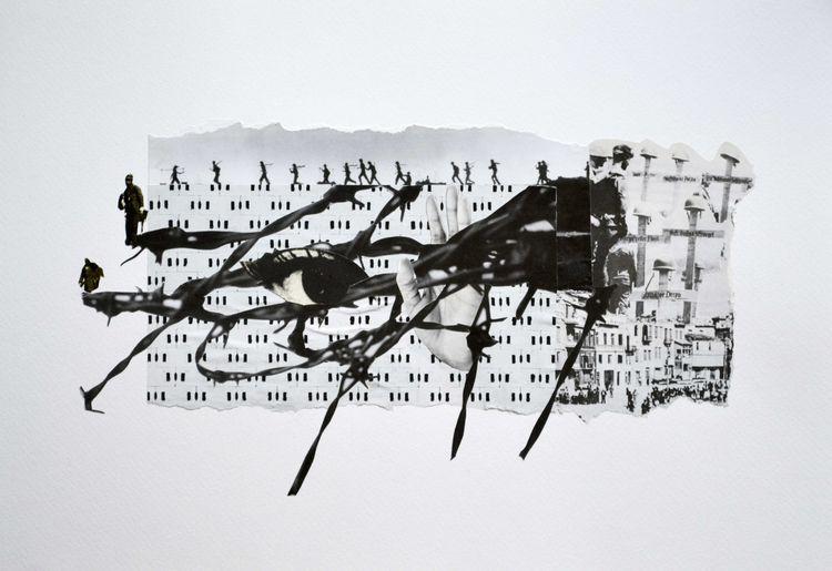 left? Paper Collage 42 29 cm La - lane_collage | ello