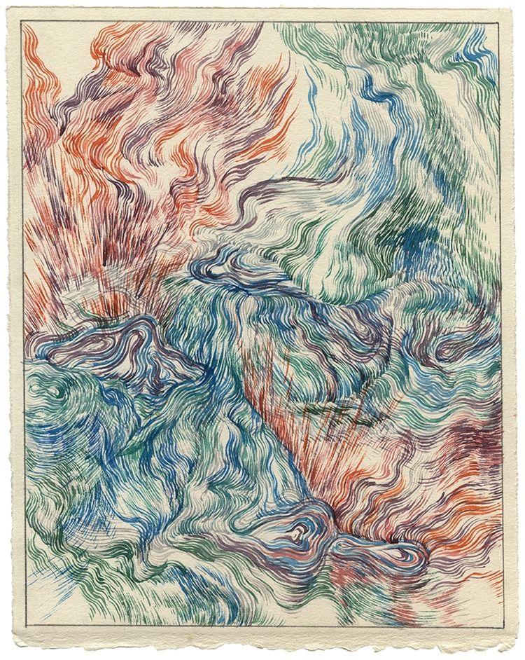 Cobalt Pools Watercolor paper,  - jacobvanloon | ello