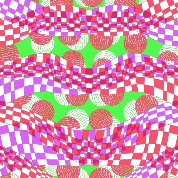 art, illustration, pattern, design - mikewalshe | ello