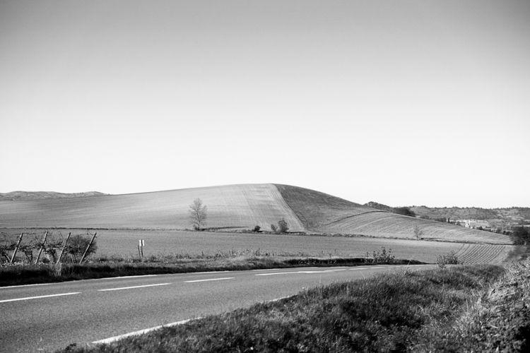 minimalist fields Fanjeaux, Aud - yannkerveno | ello