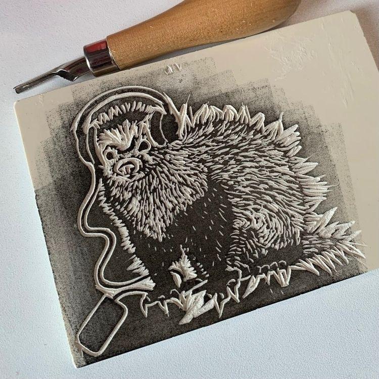 stage making stamp ferret desig - borianag | ello