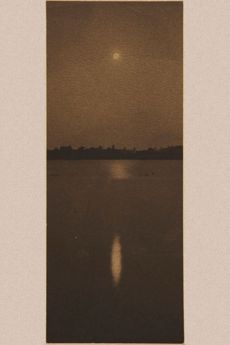 Clarence White. Moonrise, ca. 1 - charaddine | ello