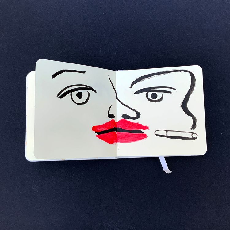 Smoking notebook - marcribera | ello