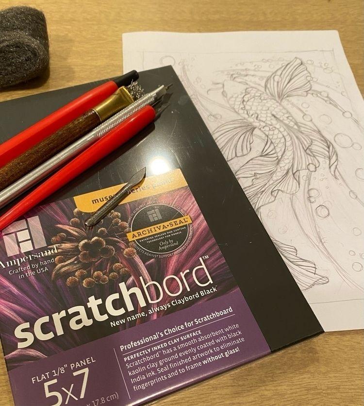 Sketch progress scratchboard il - jessicalopez   ello