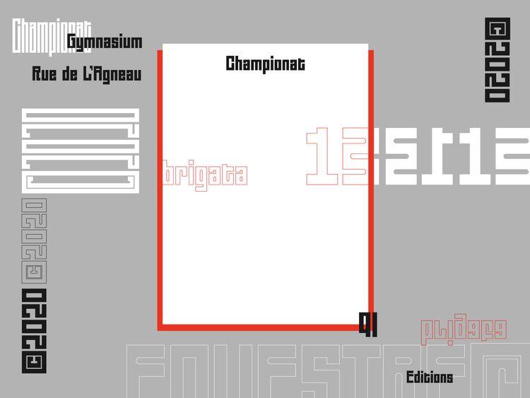 Working typeface based latest e - abriganti   ello